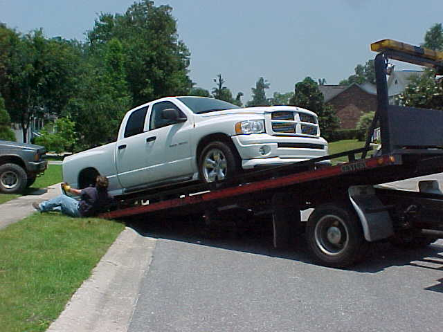 Towing on University Drive